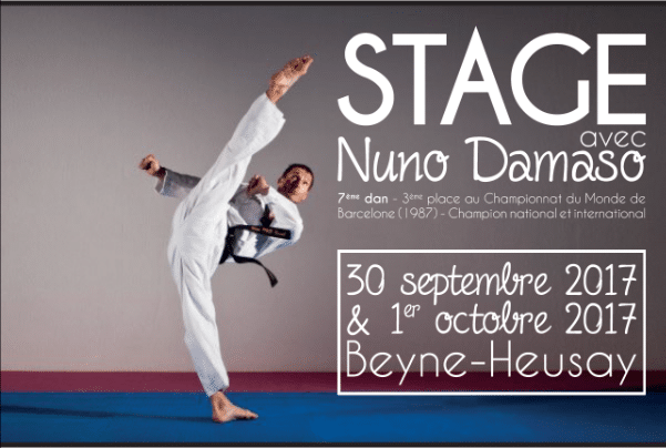 Stage 2017 avec Nuno Damaso